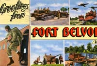 Postcard from Ft Belvoir