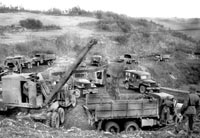Co B operating quarry