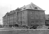 Battalion completed building for hospital occupancy
