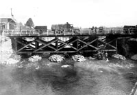 Side view of Candol Bridge
