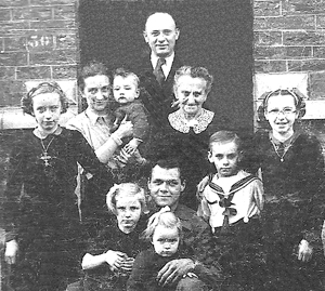 In Germany, Thomas Renfro with Flagothier family