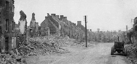 St Lo, Normandy after the invasion