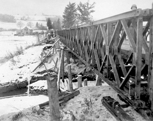 Triple Single Bailey Bridge