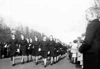 Womens Auxiliary Air Force on parade in London