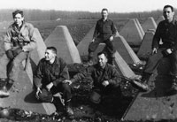 At the Siegfried Line, Germany