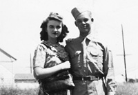 Earl Newcomb and his wife