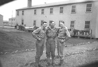 Eugene Warrier, Robert Conatser, Charles Olive at Camp White