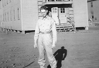 Charles Olive at Camp White
