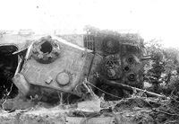 Destroyed Panther A tank