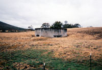 Camp White Training pillbox in 1995