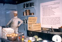 Queen Mary Museum in 1987 in the kitchen