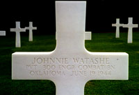Gravestone of Johnnie Watashe