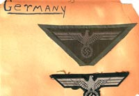German uniform insignia patches