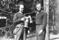 POWs nicknamed Fritz and Hans